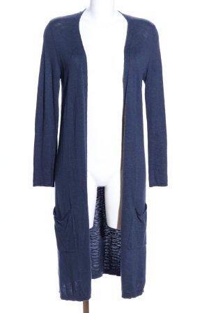 Street One Cardigan blau meliert Casual-Look