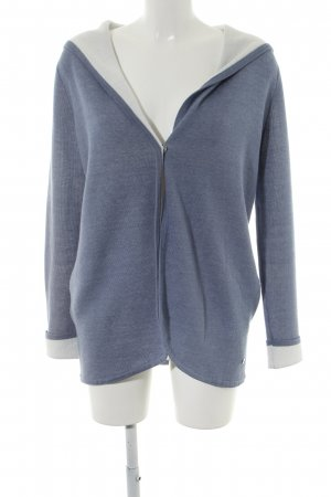 Street One Cardigan blau meliert Casual-Look