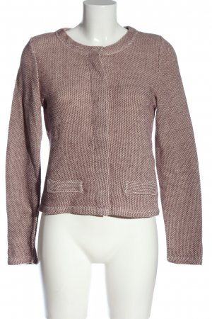 Street One Cardigan pink-white casual look