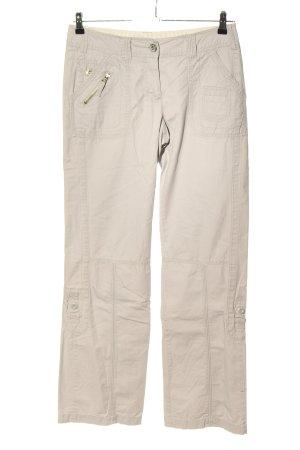 Street One Pantalón de camuflaje blanco puro look casual