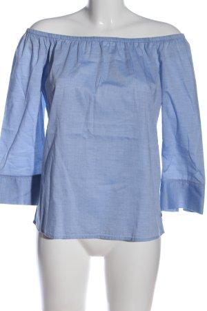 Street One Carmen-Bluse blau Casual-Look