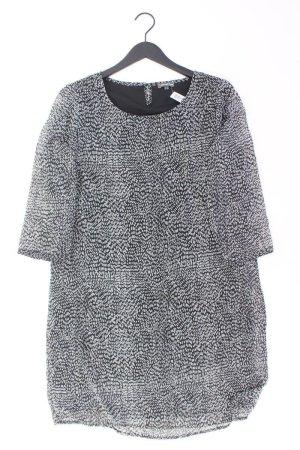 Street One Chiffonkleid Größe 42 3/4 Ärmel schwarz aus Polyester