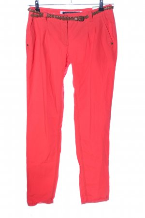 Street One Chinohose rot Casual-Look
