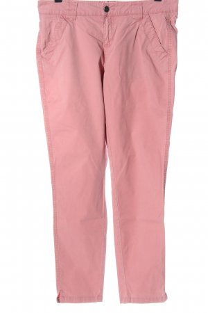Street One Chinohose pink Casual-Look