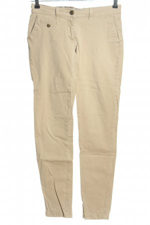 Street One Chinohose creme Casual-Look