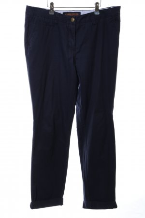 Street One Chinohose blau Business-Look
