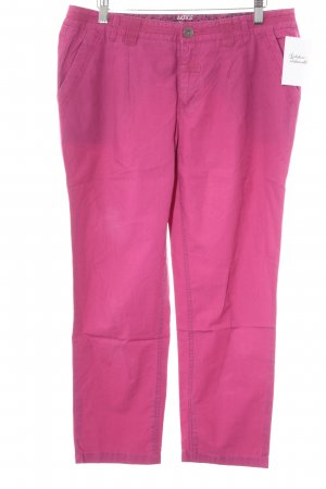 Street One Chinohose magenta Casual-Look