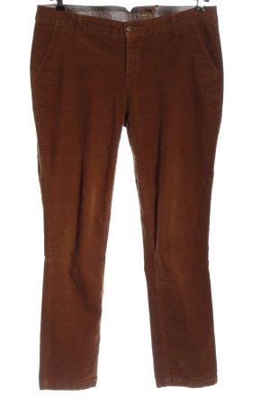 Street One Corduroy broek bruin casual uitstraling