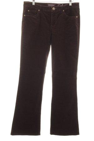 "Street One Pantalon en velours côtelé ""Salma"" brun foncé"