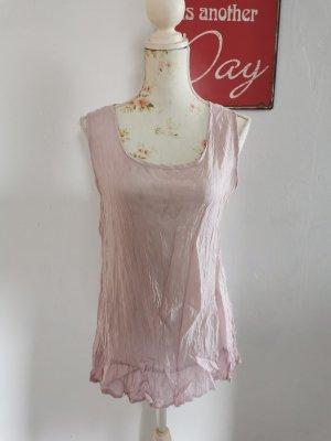 Street One Damen Crash Top Knitter Hängerchentop rosa Größe 40