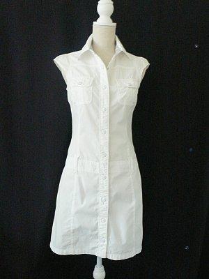 Street One Geklede jurk wit Katoen