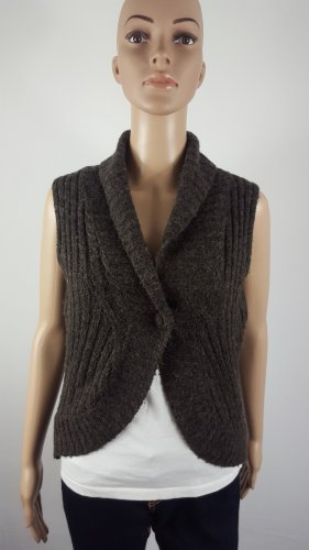 Street One Knitted Vest black brown