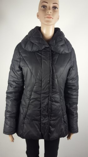 Street One Damen Übergang Herbst Jacke gefüttert Nylonjacke Schwarz Größe 38
