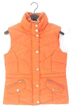 Street One Daunenweste Größe 38 orange aus Polyester