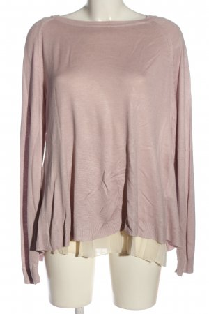 Street One Feinstrickpullover pink-creme Casual-Look