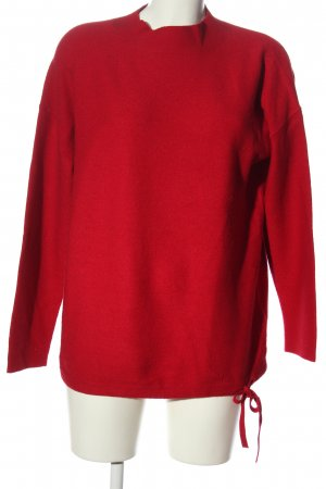 Street One Feinstrickpullover rot Casual-Look