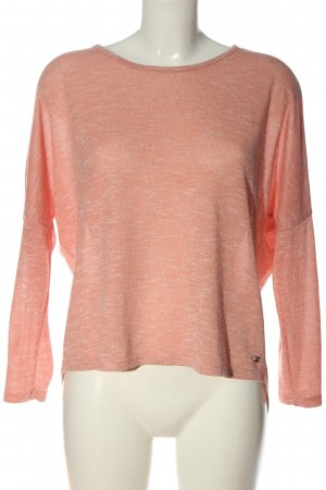 Street One Feinstrickpullover pink meliert Casual-Look