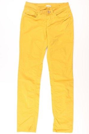 Street One Five-Pocket-Hose Größe 34 gelb aus Baumwolle