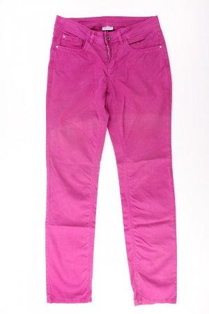 Street One Five-Pocket Trousers lilac-mauve-purple-dark violet cotton