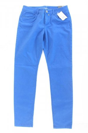 Street One Five-Pocket Trousers blue-neon blue-dark blue-azure cotton
