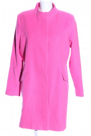 Street One Cappotto in pile rosa stile casual