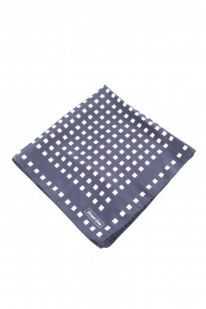 Street One Neckerchief blue-white graphic pattern casual look