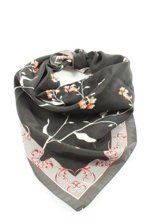 Street One Foulard noir motif de fleur style d'affaires