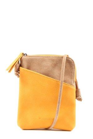 Street One Handtasche blassgelb-braun Casual-Look