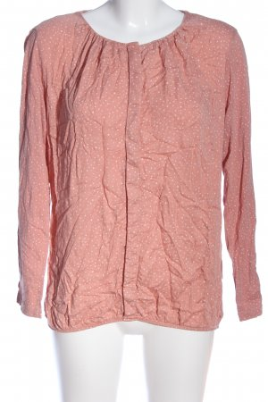 Street One Hemd-Bluse pink-weiß Allover-Druck Casual-Look