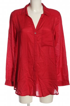 Street One Hemd-Bluse rot Casual-Look