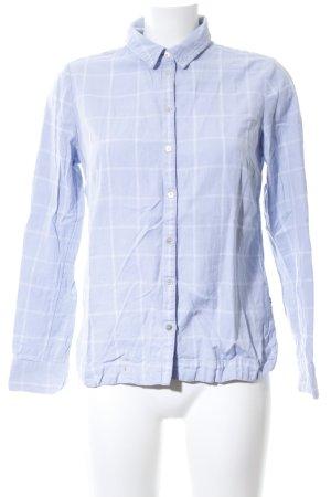 Street One Hemd-Bluse blau-weiß Karomuster Business-Look