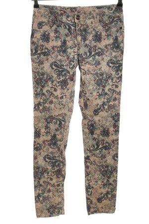 Street One Hoge taille broek volledige print casual uitstraling