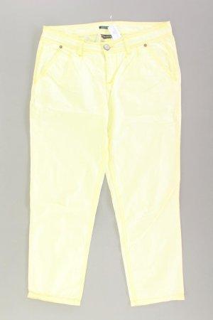 Street One Trousers yellow-neon yellow-lime yellow-dark yellow cotton