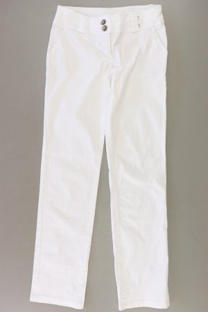 Street One Trousers natural white cotton