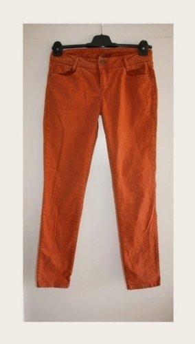 Street One Pantalone a vita bassa cognac-arancione scuro