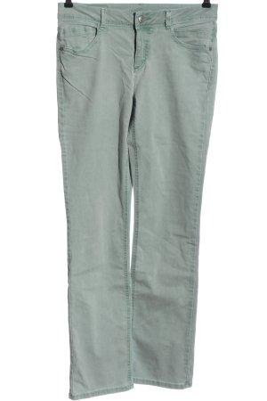 Street One Jeansy z prostymi nogawkami khaki W stylu casual