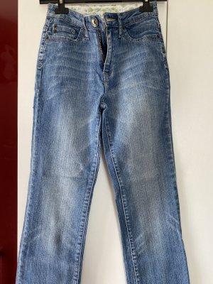 Street One Jeansy z prostymi nogawkami niebieski
