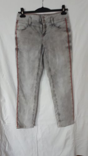 Street One 7/8 Length Jeans grey-dark orange
