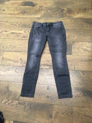 Street One Tube Jeans anthracite-black