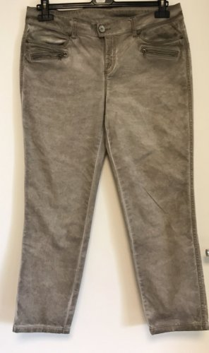 Street One Jeans a 7/8 argento-beige Cotone