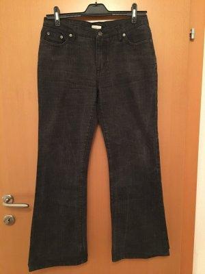 Street One Jeansy o kroju boot cut czarny-antracyt Bawełna