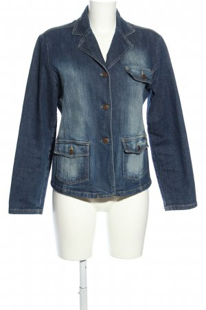 Street One Jeansblazer blau Casual-Look