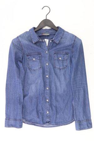 Street One Jeansbluse Größe 38 Langarm blau