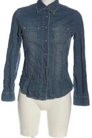 Street One Jeansowa koszula niebieski W stylu casual