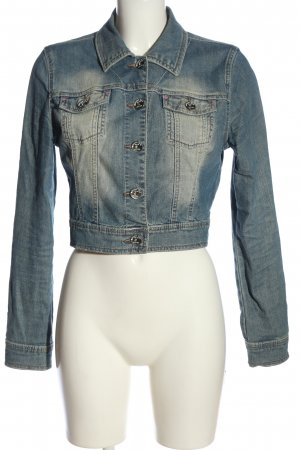 Street One Jeansjacke blau Casual-Look