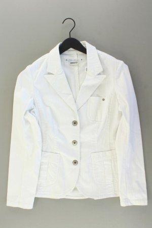 Street One Jeansjacke Größe 42 weiß aus Baumwolle