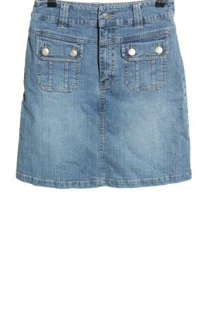 Street One Gonna di jeans blu stile casual
