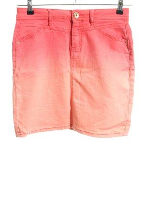 Street One Jeansrock pink-nude Farbverlauf Casual-Look
