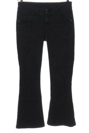 Street One Jeans flare noir style décontracté