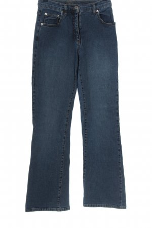 Street One Jeansowe spodnie dzwony niebieski W stylu casual